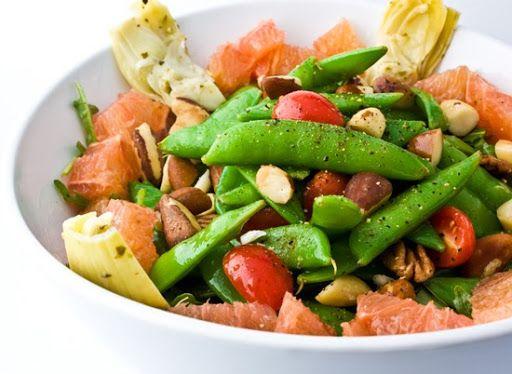 sugar-snap-pea-salad   Being Good   Pinterest