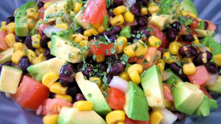 Avocado and Black Bean Salad | juices and diets | Pinterest