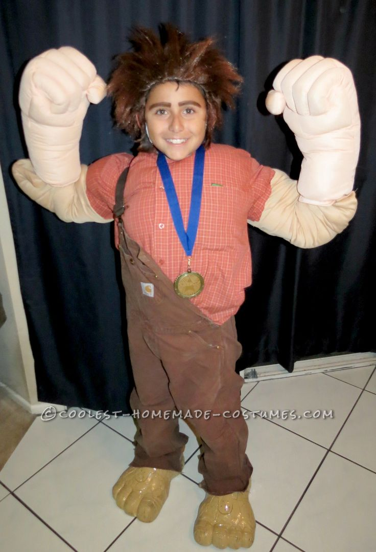 Diy wreck it ralph costume wreck it ralph halloween costume coolest