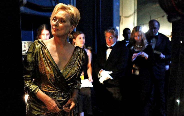Meryl Streep, Backstage Academy Awards 2012