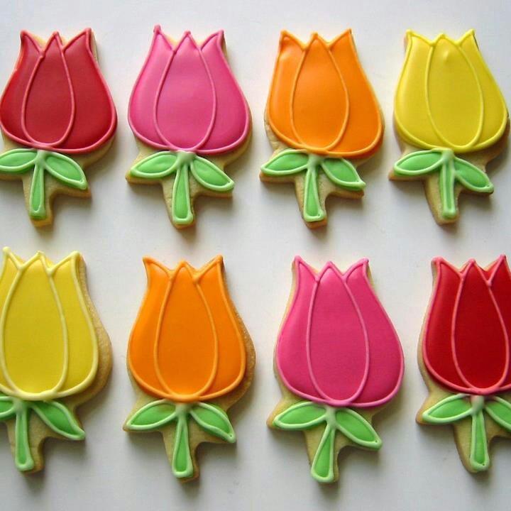 Tulips-Peggy Porschen   Cookies!   Pinterest