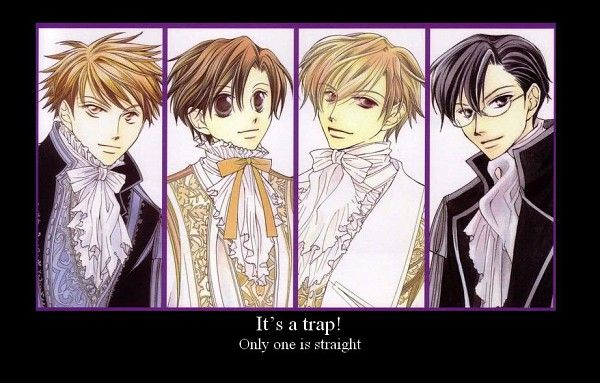 It's A Trap!; That would be Haruhi