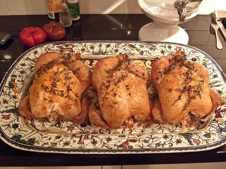 Thomas Keller roasted Chicken - Perfect | Food is the Celebration of ...