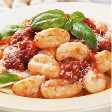 smoked mozzarella recipes dishmaps gnocchi sausage tomato peas smoked ...