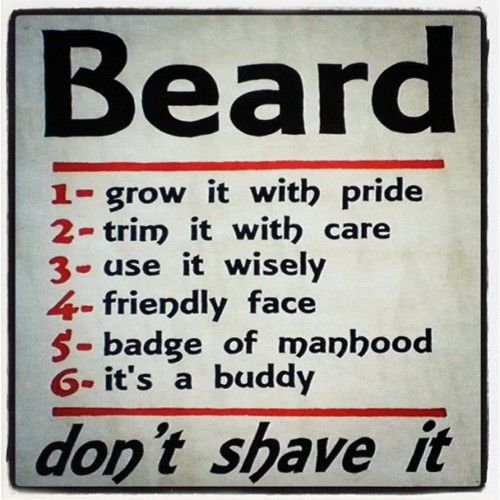 Rules of the Beard