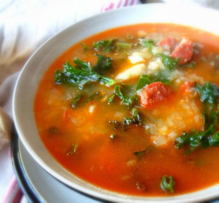 Caldo verde - Portuguese kale soup | Soups | Pinterest