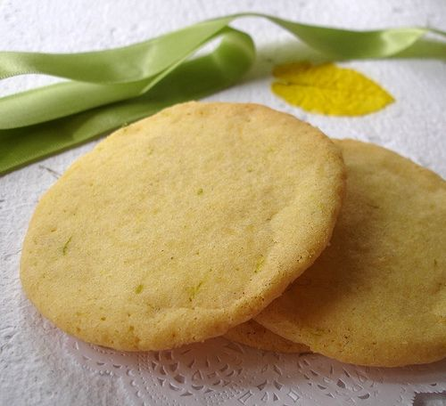 Nic's Lime Sugar Cookies. I just saw this. I am not a baker, barely ...
