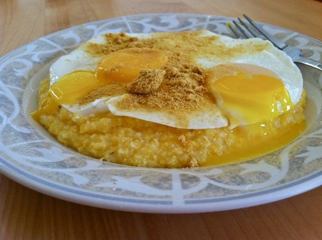 breakfast polenta | Breakfast | Pinterest