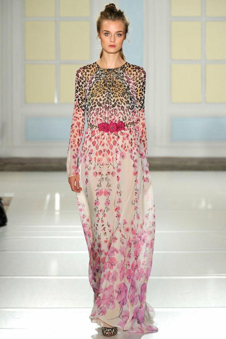 MAXI5702107 / S M L / 2014 @ VALENTINO @ RUNWAY & MODEL FASHION MAXI DRESS - blisszone : Inspired by LnwShop.com