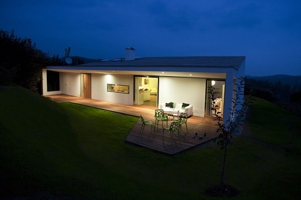 Beautiful architecture minimalist villa design, the architect wanted ...