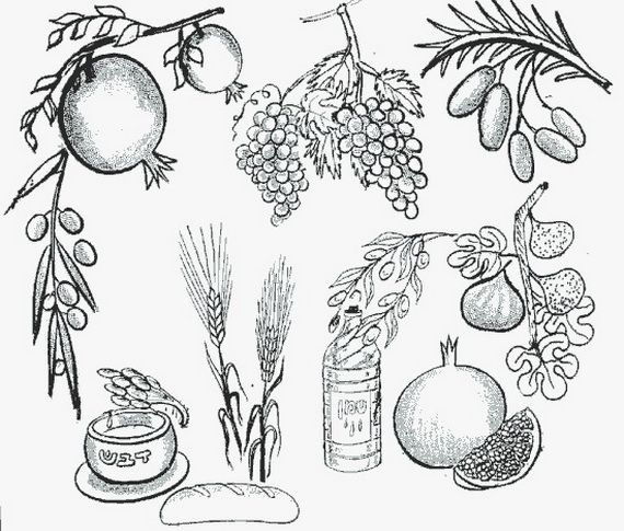 jewish coloring pages rosh hashanah