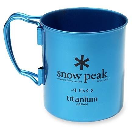 Snow Peak Colored Titanium Mug