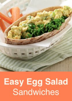 """Easy Egg Salad Sandwiches - """"Fast and easy egg salad - the best part ..."""