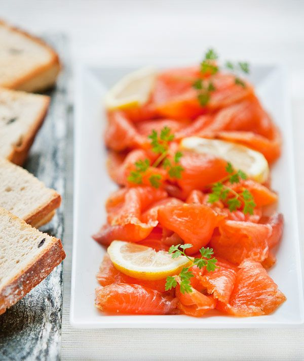 Tasty Tuesday: Salmon Gravlax. A Norweigan dish of citrus & herbed ...