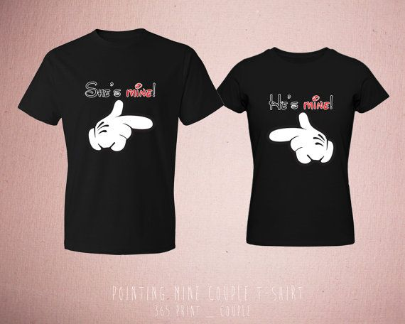 smukt smil pige cute matching t shirts for couples