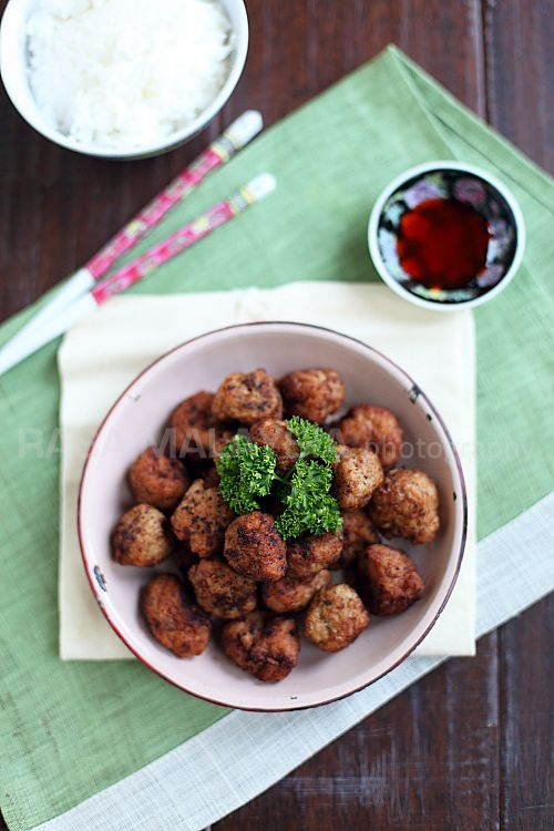 Fried Meatballs | Meatballs Recipe | Easy Asian Recipes at ...