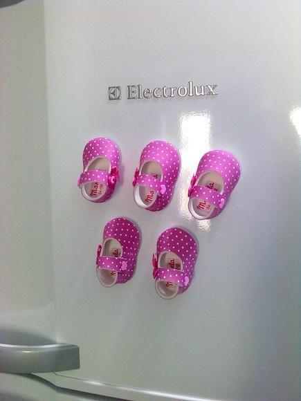 Lembrancinha Maternidade Menina - Sapato