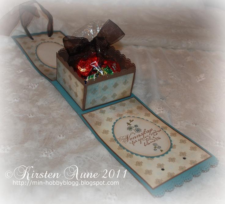 Kirstens Blogg: DT Unik Hobby - candy holder box