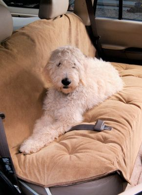 Luxury Car Seat Covers for Pets - Grandin Road