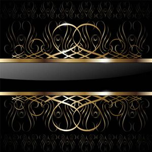 Gold wallpaper designs gold expensive to just pretty for Black gold wallpaper designs
