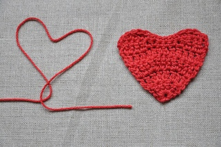 Valentine's Day Heart Crochet Patterns - Petals to Picots