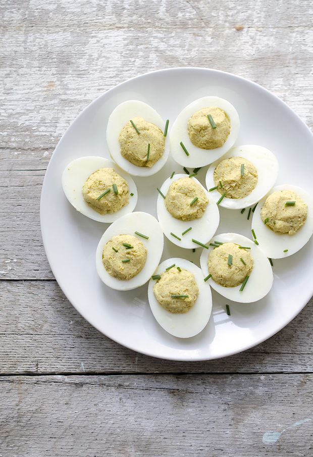 Curried Deviled Eggs | Food that Looks Delicious | Pinterest