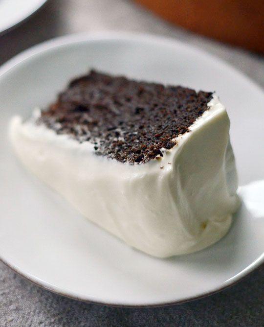 dark and damp molasses cake uuugghhh heaven