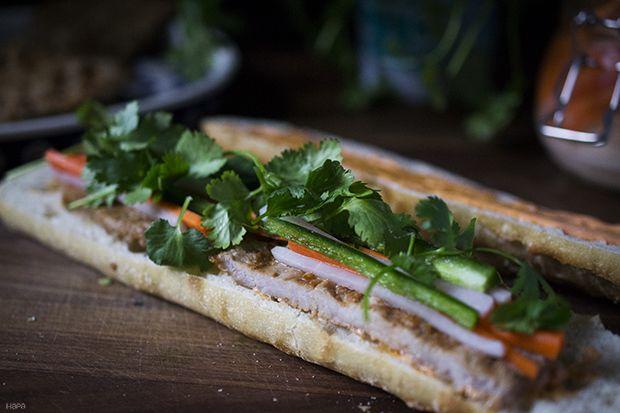 Lemongrass Pork Banh Mi | Food - Sandwiches | Pinterest
