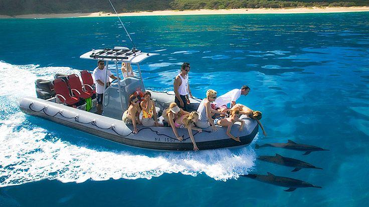 Na Pali Coast Snorkel Tour Zodiac