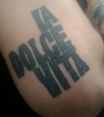I want this tattoo #Fellini