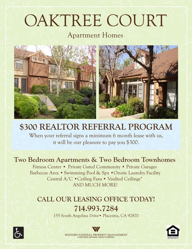 realtor referral program flyer leasing for a living. Black Bedroom Furniture Sets. Home Design Ideas