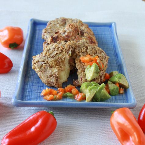 Pepper Jack, Potato & Bean Cakes | Recipe