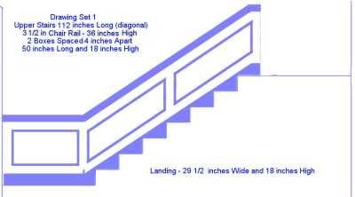 Best Stair Chair Rail House Fixes Pinterest 640 x 480