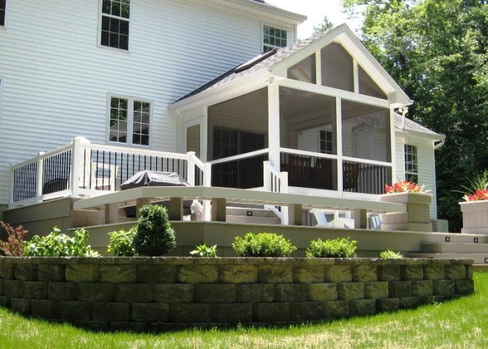 Multi Level Patio Decks : Multilevel deck  outside spaces  Pinterest
