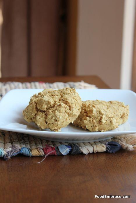 Whole Wheat Drop Biscuits (flour + baking soda + baking powder + non ...