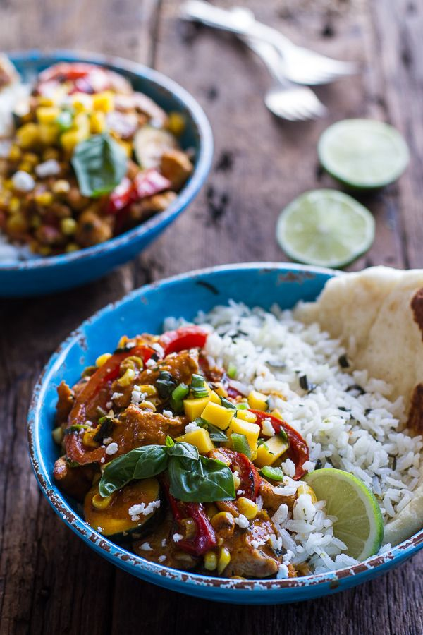 ... Chicken Curry with Coconut Ginger-Lime Rice | halfbakedharvest.com