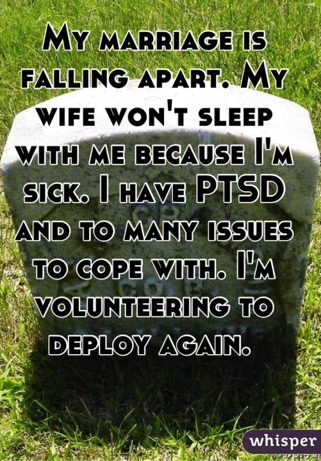 dating a man with military ptsd I've been dating this guy with ptsd he doesn't get violent just gets emotional he cries when he's drunk and he'll get eerily quiet.