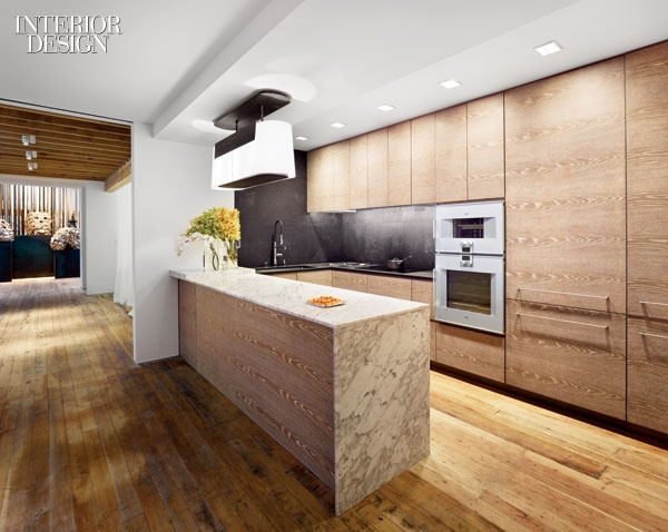 Pin by jutemag on the modernist pinterest for Cerused oak kitchen cabinets