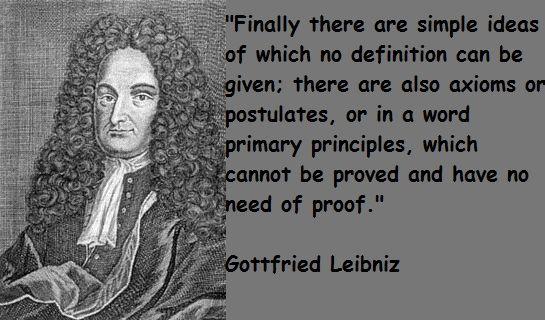 Gottfried Leibniz Quotes Math. QuotesGram