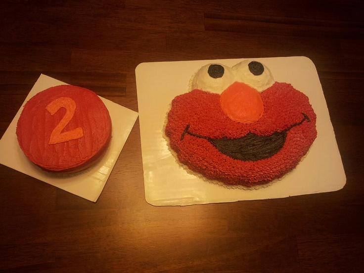 Elmo Cake from Wilton Cake Pan  Cakes, Quilts & Other Crafts....  P ...