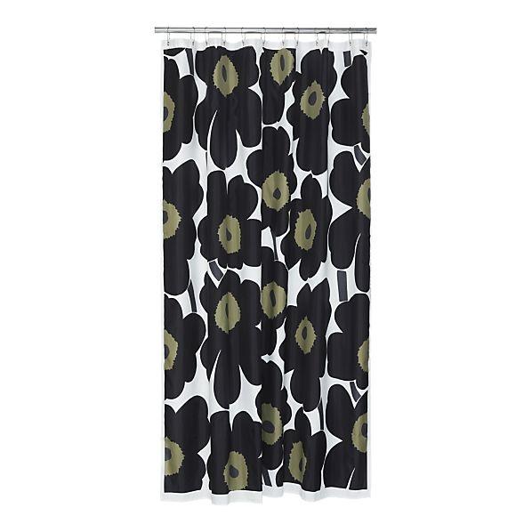 marimekko shower curtain | bathroom ideas | Pinterest