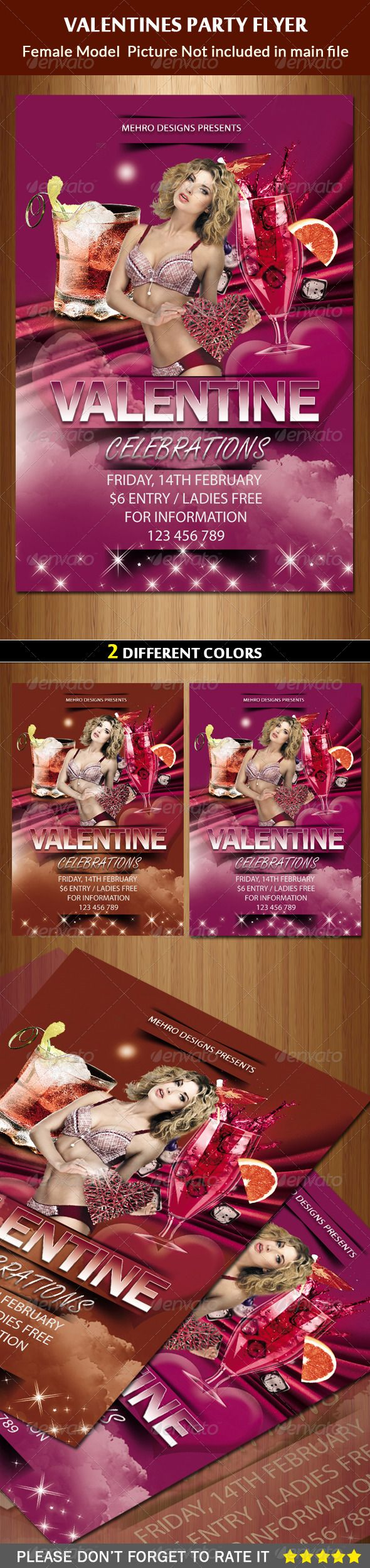 valentines day flyer template microsoft