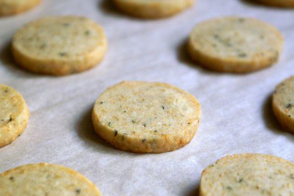 parmesan + sage crackers.   *famished*   Pinterest