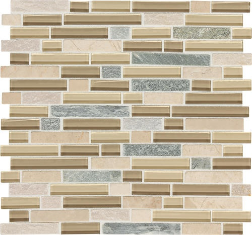 daltile phase mosaics stone and glass wall tile 5 8
