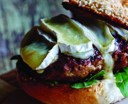 Alida Ryder's pork and apple burgers - Eat Out
