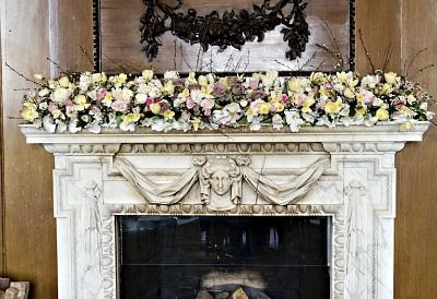 Fireplace mantel - Lookout concept