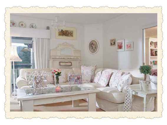 Romantic Country Living Room Ideas Pinterest