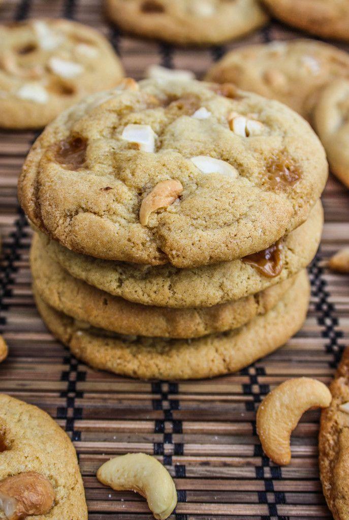 Salted Caramel Cashew Cookies | What's Baking | Pinterest