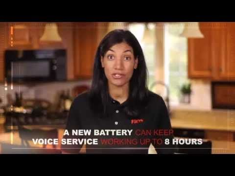 verizon fios battery replacement