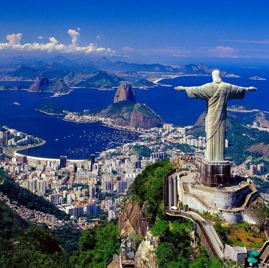 Cristo Redentor Brazil Lugares Pinterest